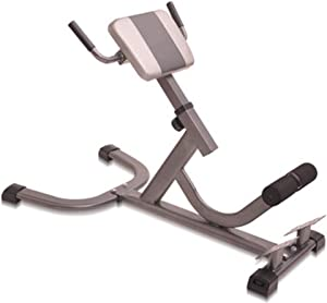 TOE Multifunctional Adjustable Hyperextension Roman Chair Stretching Stool Strength Training Abdominal Machines for Home Office Max Weight 660Lbs