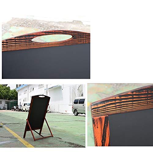 LIANGJUN Message Board Chalkboards Retro Type A Floor-Standing Bracket Type Sketchpad Advertising Board Publicity Board Cafe Flower Shop (Color : A, Size : 52X44X100CM) by LIANGJUN-lyj (Image #5)