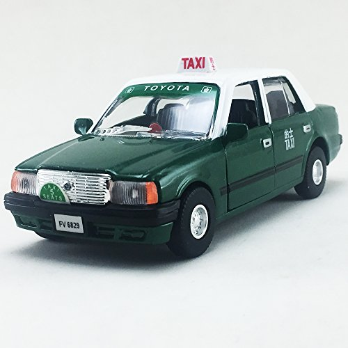 Toyota Van Models - TOYOTA CROWN COMFORT Hong Kong Green Color TAXI Scale 1:30 Diecast,Model,Toys,Car,Collectible,Collection,Gift