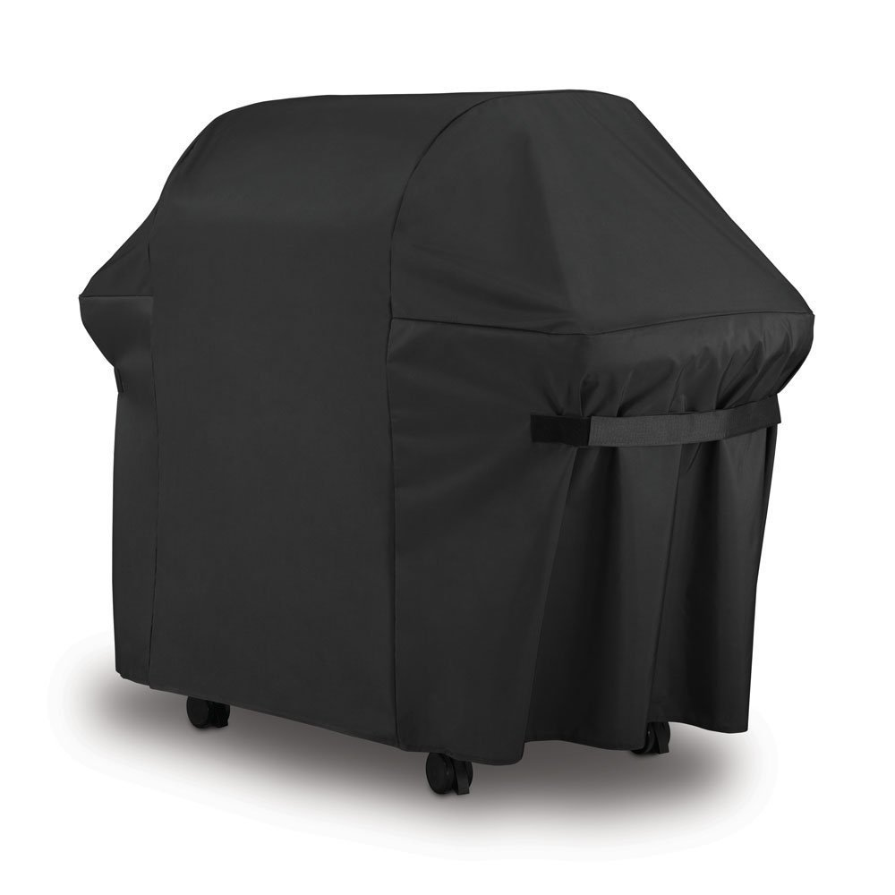 LiBa BBQ Gas Grill Cover 7107 for Weber 44x60 in Heavy Duty Waterproof and Weather Resistant Weber Genesis and Spirit Series Outdoor Barbeque Grill Covers by LiBa