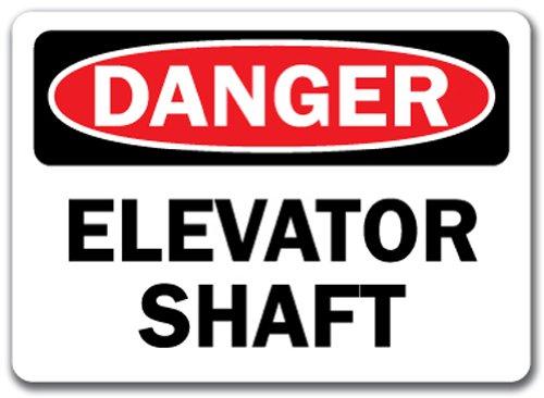 (Danger Sign - Elevator Shaft - 10