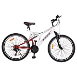TXED AF- 17 Sports Bicycle 26T 21 Speed 26 Inch Cycle For Mens/Boys/Adults - White Red Cycle