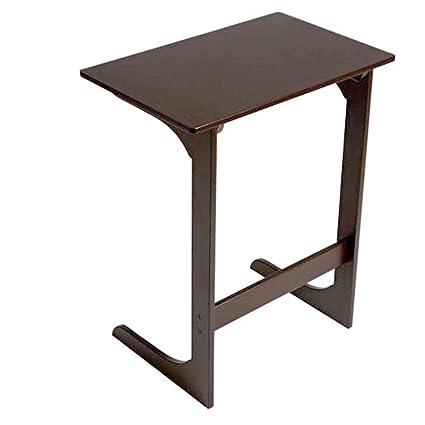 Super Amazon Com Bamboo End Table Wood Natural Nightstand Small Interior Design Ideas Tzicisoteloinfo
