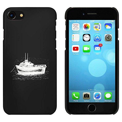 Noir 'Bateau Ancré' étui / housse pour iPhone 7 (MC00079003)