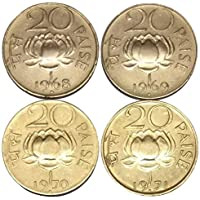 Genuine Coins Gallery. 1968-1971 Lotus 4 Coins