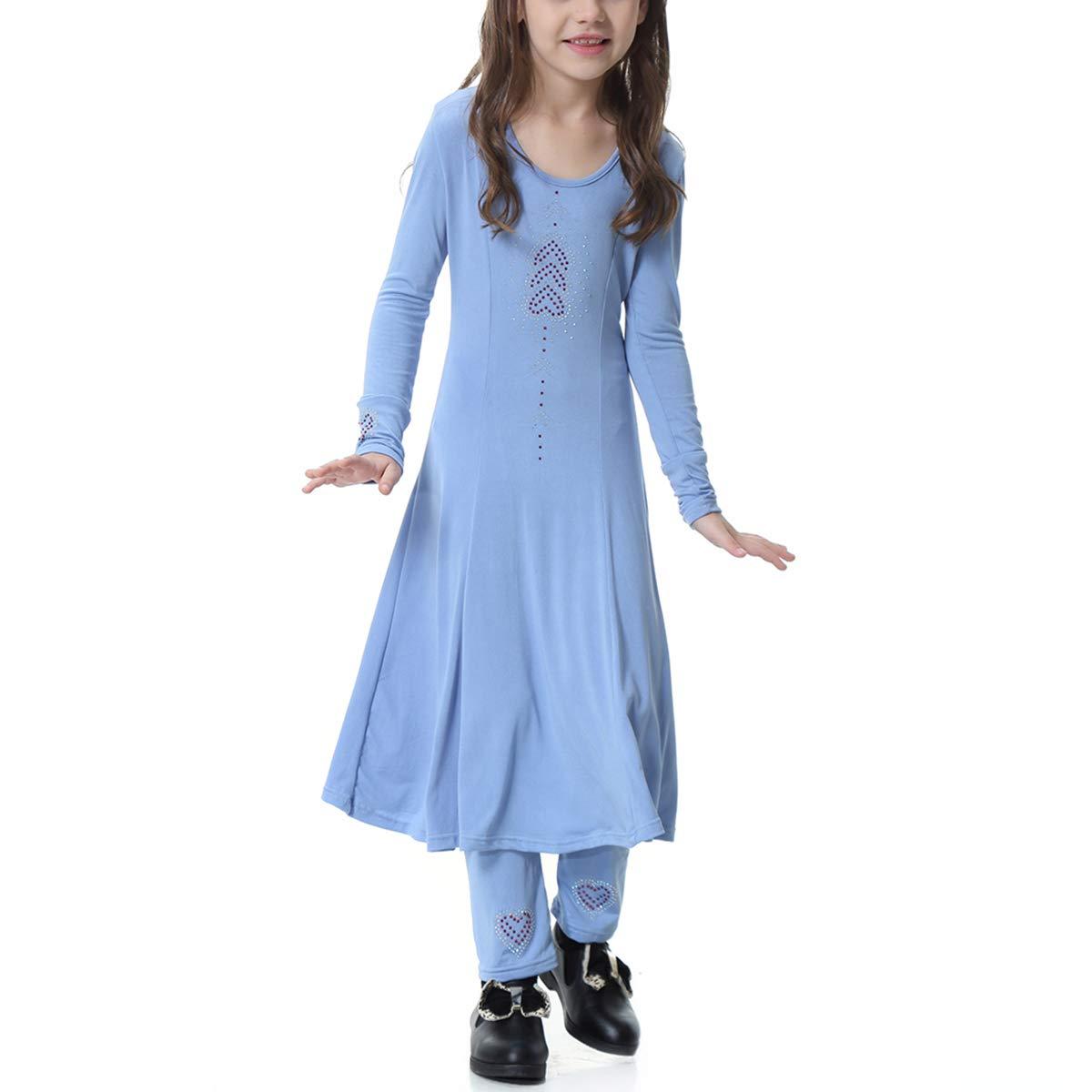 BESTOYARD 2pcs Establece niñas Musulmanas Trajes de Vestir Niños ...