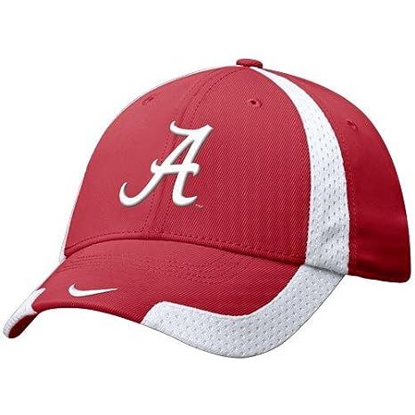on sale c9f28 9af7a ... cheap nike alabama crimson tide crimson basketball swoosh flex fit hat  e2c86 b63fa ...