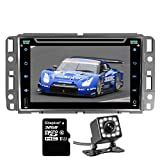 Panlelo Car DVD Player For Chevy GMC 7 inch GPS Navigation DVD Head Unit Android 5.1 Quad Core In Dash 1080P Touchscreen Car Stereo DVD Player AM/FM/RDS Radio Receiver Steering Wheel Control