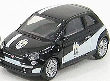 Fiat 500 In Black Juventus Fc Scale 1 43 Amazon Co Uk Toys Games