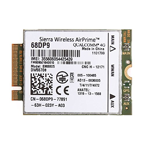(DW5570e Mobile Broadband module EM8805 Airprime 68DP9 HPSA+ WWAN NGFF(M.2) Card Compatible For Dell E7250)