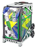 Zuca World Cup inspired Striker roller bag- choose your frame color! (grey frame)