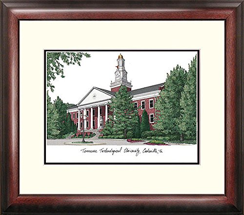 Tennessee Tech University Alumni Exquisitely Framed Imprinted Home Office (Tech University Framed Lithograph)