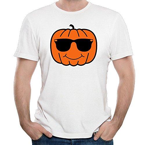 Men's Fun Pumpkin With Sunglasses 2016 Personalized Shirt - Anchorage Shops Glass