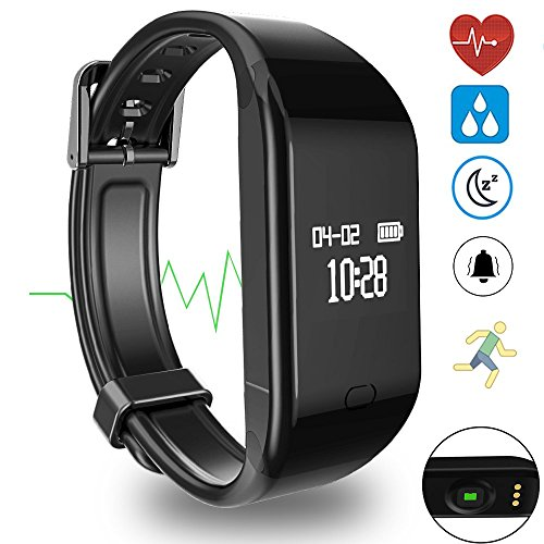 Helonge Fitness Tracker, Sports Activity Tracker, Waterproof Smart Wrist Watch with Heart Rate Monitor, Sleep Monitor, Sedentary Reminder and so forth, Multi Scene Management, Customized Your Lifestyle – DiZiSports Store