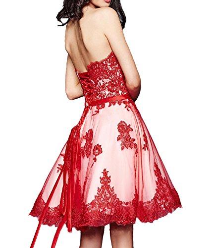 Jaeger La Marie Rot Abendkleider Glamour Gruen Tanzenkleider Linie Promkleider A Braut Spitze Partykleider Knielang qFHrq7x