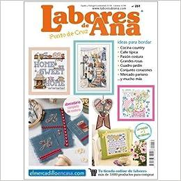 LAS LABORES DE ANA Nº 251 Completo Abecedario de Costura - Revista de Punto de Cruz: Amazon.es: ALTERNATIVAS PUBLICITARIAS SL: Libros