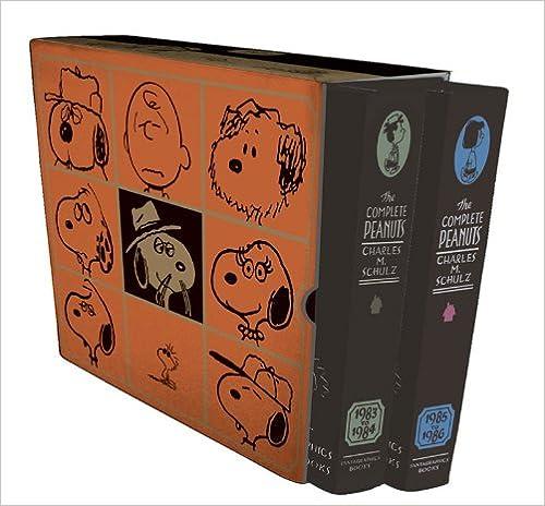 1983-1986 17 /& 18 THE COMPLETE PEANUTS BOX SET VOLS