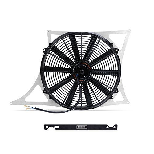 Mishimoto MMFS-E46-01 Silver Aluminum Performance Fan Shroud Kit (Optional Fan Kit)