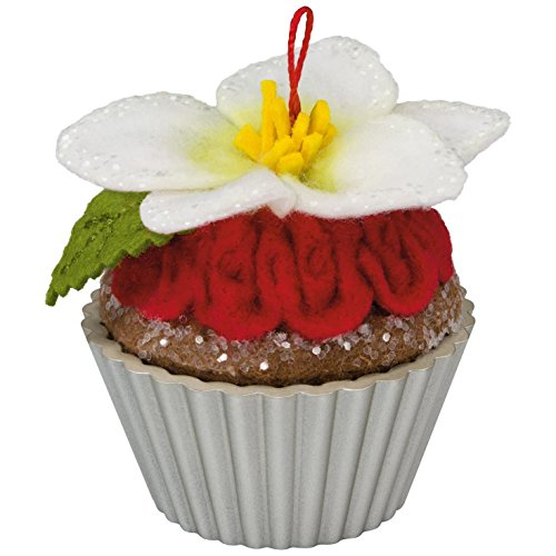 Hallmark Keepsake 2017 Candied Christmas Rose Christmas Cupcakes Christmas Ornament (Tree Christmas Collectible Ornaments)
