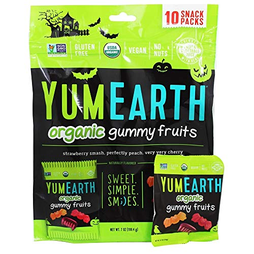 Yumearth YumEarth Hallween Limited Edition Organic Gummy Candy