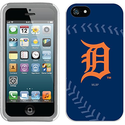 Coveroo New Guardian Cell Phone Case for iPhone 5S/5 - Detroit Tigers Stitch