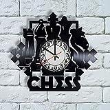 Chess Board Clock, Chess Pieces, chess art, chess