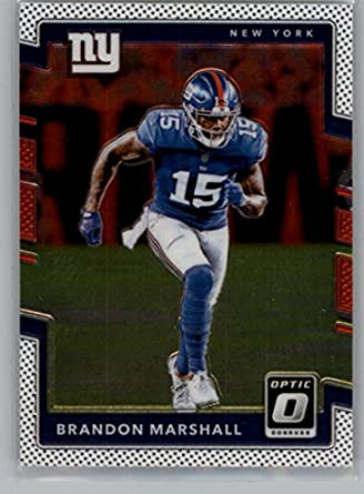 wholesale dealer 0ffbc 574af Amazon.com: Football NFL 2017 Donruss Optic #30 Brandon ...