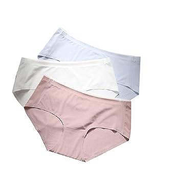 Andopa 3-Pack fisuras entrepierna de algodón de una sola pieza ...