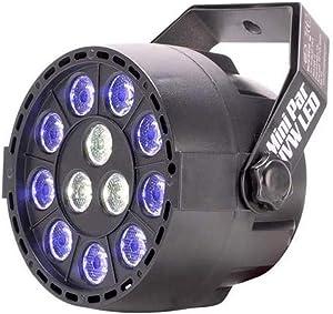 Eliminator Lighting LED Lighting, Black (MINIPARUVWLED)