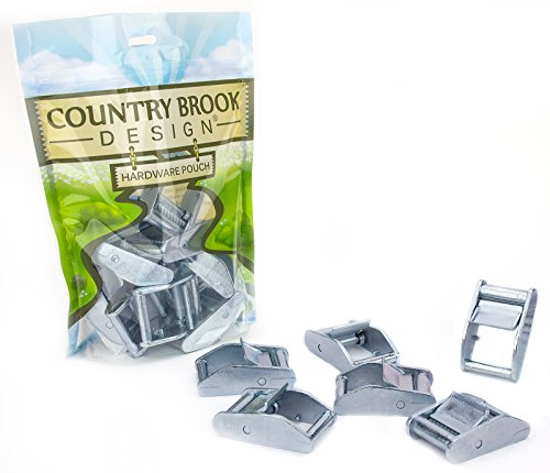 (10 - Country Brook Design | 1 Inch Press Cam Buckles )