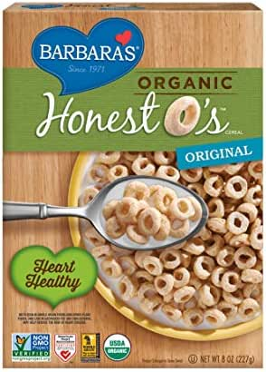Breakfast Cereal: Barbara's Organic Honest O's