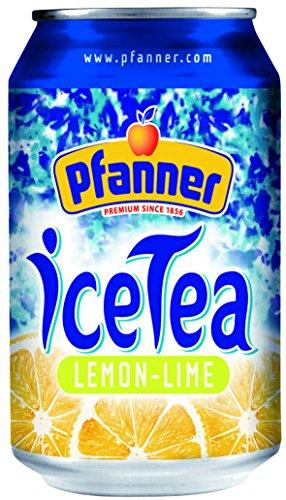 Pfanner Eistee Lemon, 24er Pack (24 x 330 ml)