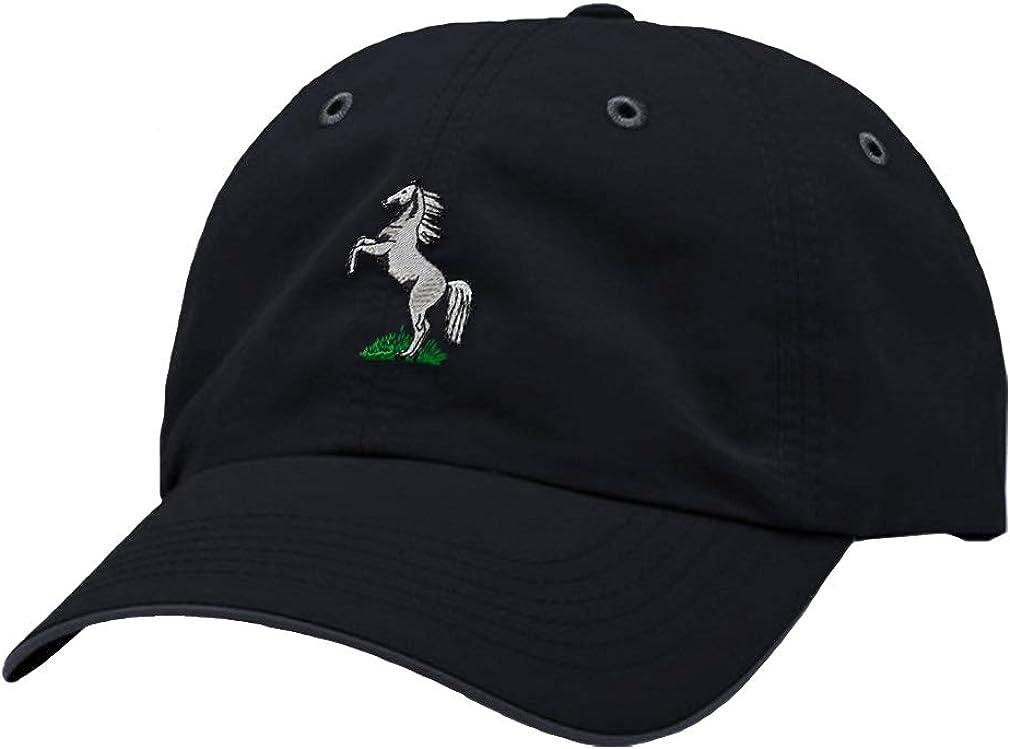 Custom Richardson Running Cap Horse Rearing Embroidery Animal Name Polyester Hat