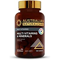 Australian NaturalCare - Multi Vitamins - Multi Vitamins and Minerals Tablets (100 Count)