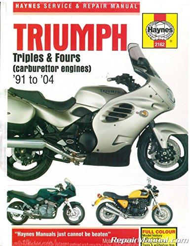Triumph 750/900 Triples & 1200 Fours '91'99 (Haynes Repair Manuals)