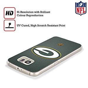 Official NFL Football Green Bay Packers Logo Soft Gel Case for Samsung Galaxy S8+ / S8 Plus
