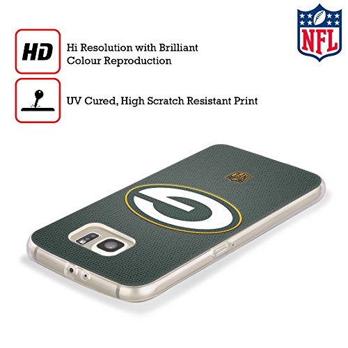 Official NFL Football Green Bay Packers Logo Soft Gel Case for Samsung Galaxy S8