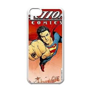 iPhone 5C Phone Case White Action Comics HUX324216