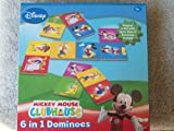 Disney Mickey Mouse Clubhouse 6 in 1 Dominoes