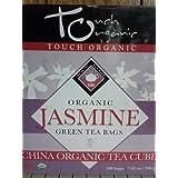 Touch Organic China Organic Tea Cube, Jasmine Green Tea by Touch Organic