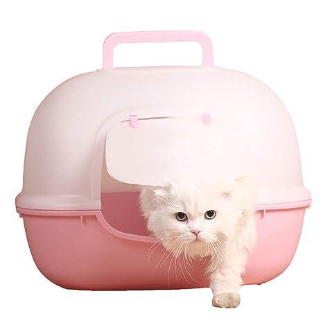 MTCWD Caja De Arena para Gatos/Gato Encapuchado Camada ...
