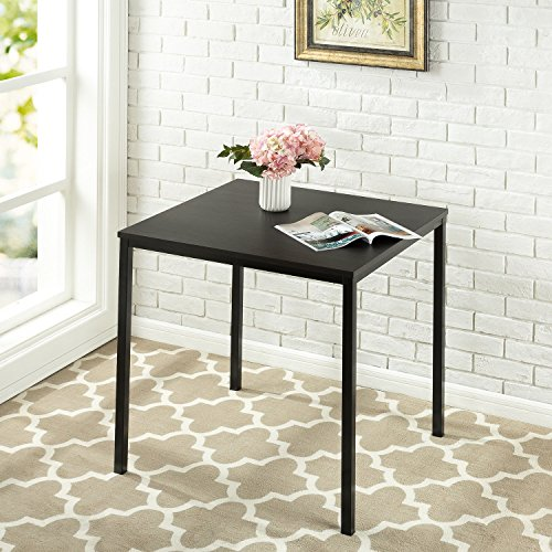 Zinus Umer Modern Studio Collection Soho Square Table, Espresso