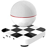 Portable Bluetooth Wireless Floating Levitating Maglev Speaker/Maglev Bluetooth speaker (White)