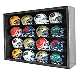 1/2 Scale Speed Mini Football Helmet Display Case