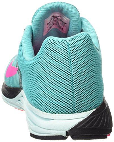 Nike  Zoom Structure+ 17 - Zapatillas de atletismo para Mujer Verde (Hyper Jade / Hypr Pnk-Blk-Tl Tnt)