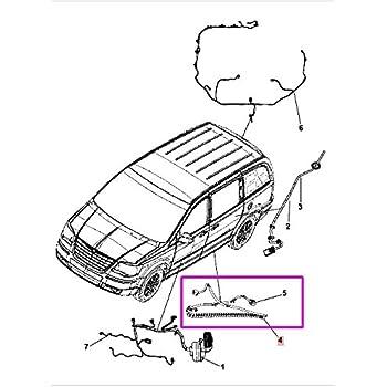 Amazon Com Genuine Chrysler 68078886ac Sliding Door Track Wiring