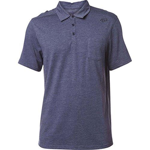 Fox Men's Legacy Polo Shirt, Heather Navy, Medium (Racing Mens Polo)