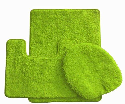 3 Piece Premuime Luxury Acrylic Bath Rugs Set Large 18