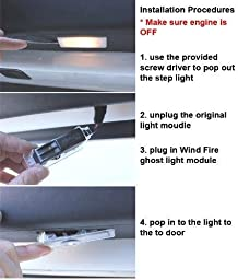 Xotic Tech 2 Pieces Nissan Laser LED Car Door Welcome Logo Ghost Shadow Projector Lights Courtesy