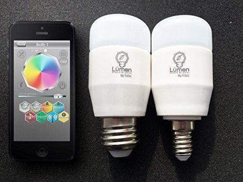 Smart LED-Birne Tabu Lumini Bluetooth E27 3W RGB-Farbsteuerung über App (840311100637)